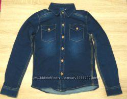 Рубашка под джинс трехнита 8-10 лет Pepperts