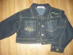 Пиджак джинсовый 92-98р. Loroling на девочку