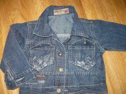 Пиджак джинсовый 92-98р. на мальчика