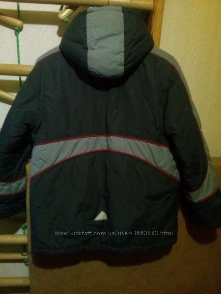 зимняя куртка на рост 146-160