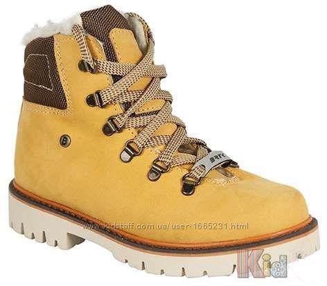 Ботинки тимберленды зимние для мальчика Bartek
