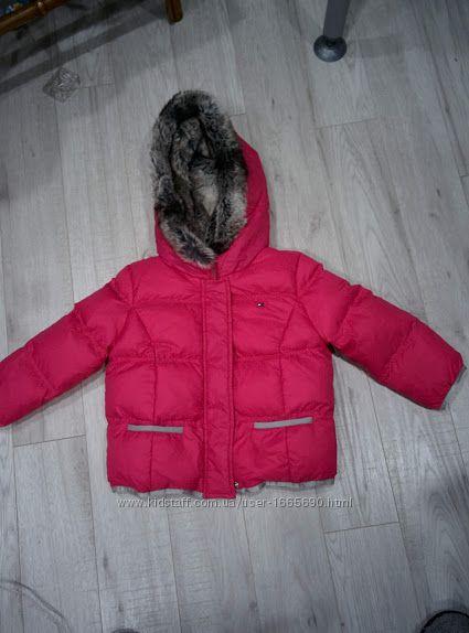 Великолепная курточка для девочки на 4 года tommy hilfiger