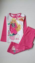 Якісна трикотажна піжамка Disney - Barbie на 2  роки