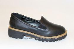 Туфли женские черные Т755
