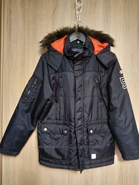 Куртка на подростка Here There р.164 со съемной подкладкой 13-14 лет