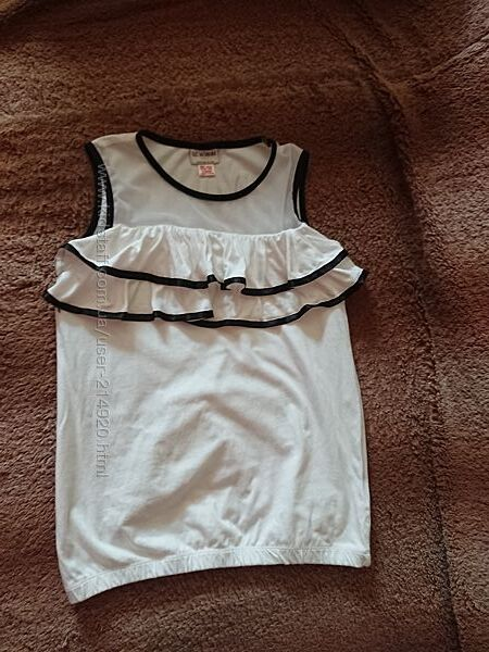 Школьная блузка из трикотажа