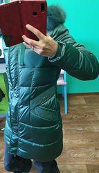 Пуховик пальто зимняя куртка