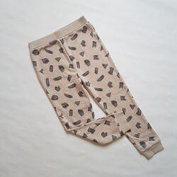 Утеплённые штаны-джоггеры,  унисекс, 4-5лет, George, Англия