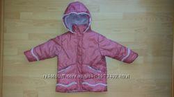 Теплая, легкая куртка для девочки