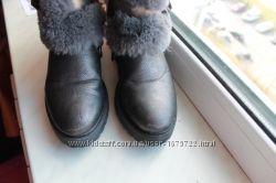 Зимние ботиночки для девочки длина стельки 22 см.