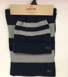 Набор шапка шарф Levi&rsquos