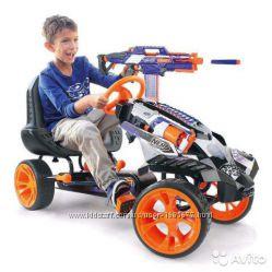 Nerf детский педальный картинг веломобиль Battle Racer Ride On T918