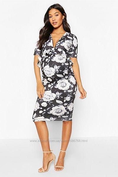Платье на беременность boohoo