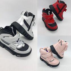 Демисезонные ботинки на девочку 22-27 р Jong Golf, утепленные