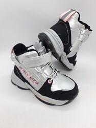 Демисезонные ботинки на девочку 27-32 р Jong Golf, утеплённые