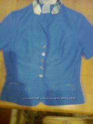 Красивый  синий пиджак отличного качества. Германия. НОВЫЙ.