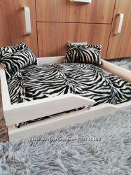 Лежак лежанка спальное место кроватка для собак