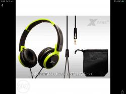 Наушники головные Xears XDJ100 foldable DJ  Германия