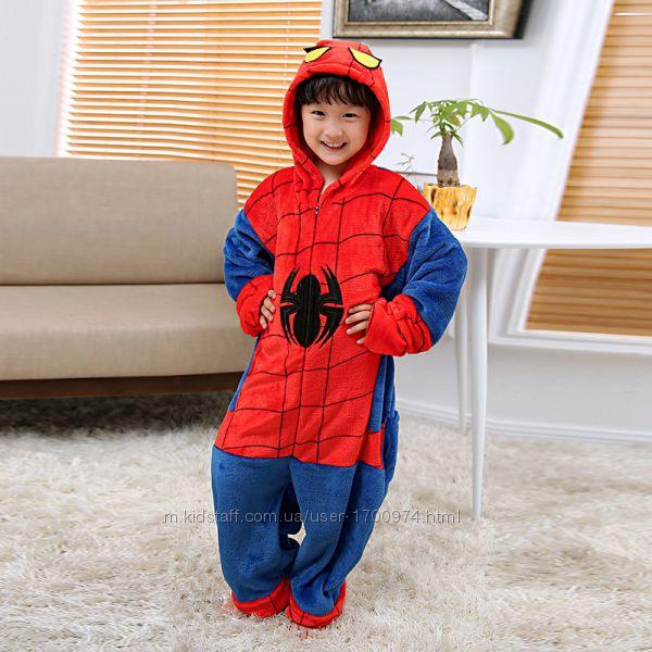 Кигуруми пижама человек паук