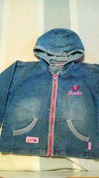 Пиджак джинсовый на девочку Pipimao. Размер 122-128
