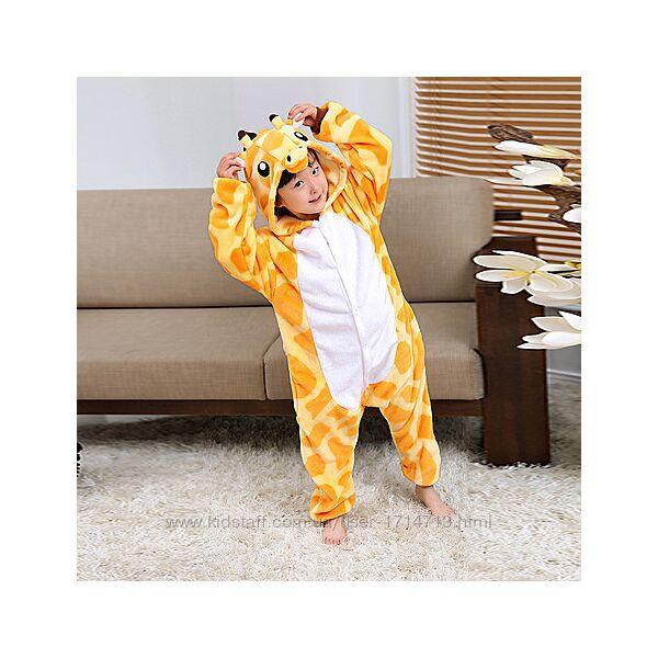 Пижама Кигуруми Жираф / кігурумі для дітей Жираф / кигуруми для детей