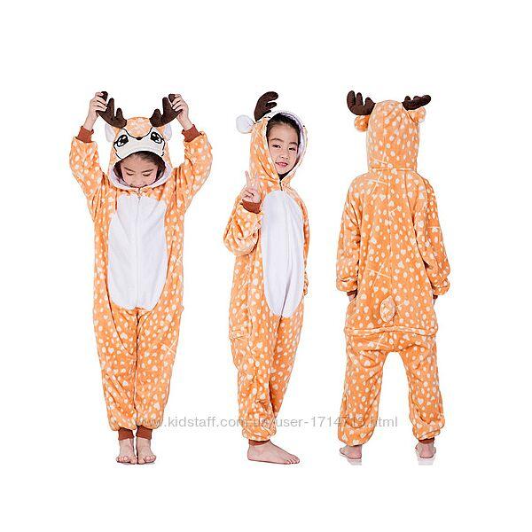 Пижама Кигуруми Олень / кігурумі Олень / кигуруми для детей
