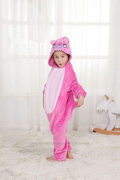 Кигуруми Стич розовый / Кігурумі Стіч для дітей / кигуруми для детей