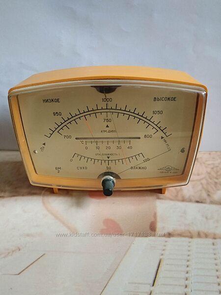 метеостанция барометр  гигрометр  термометр