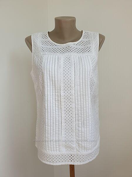 Блуза з перфорацией хлопок TU