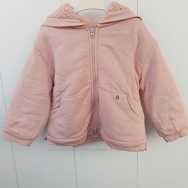 Куртка шерпа Зара. Курточка Zara на девочку