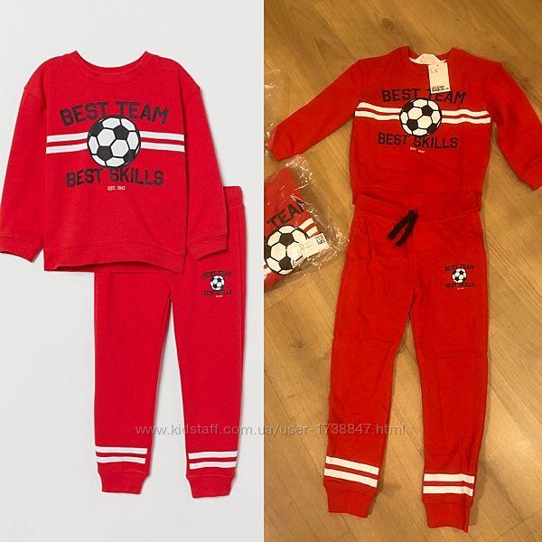 Новый спортивный кюстюм HM на мальчика  3-4 года 104 рост, 4-5 110.