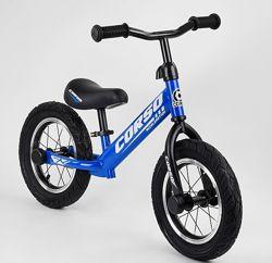 Беговел Corso детский Велобег надувные колеса
