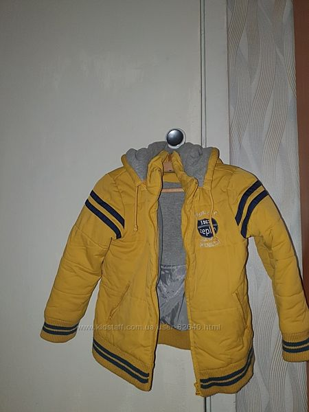 Зимняя куртка для мальчика б/у