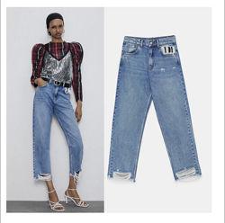 джинси мом zara 34
