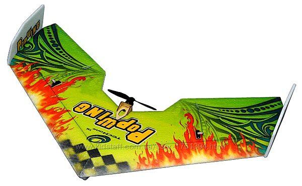 Летающее крыло TechOne Popwing 900мм EPP ARF зеленый