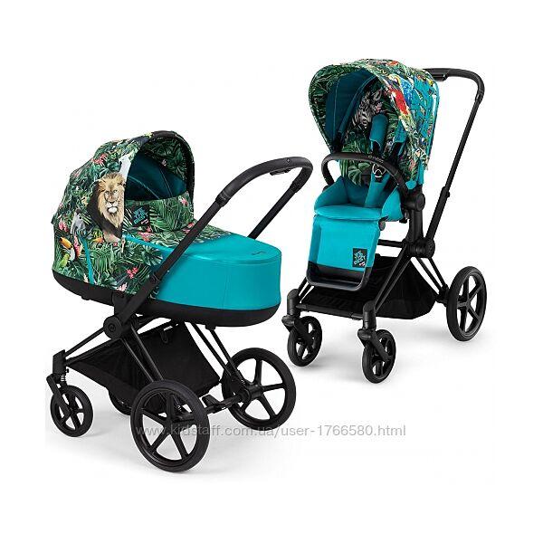 Универсальная коляска 2в1 Cybex Priam 2.0 by DJ Khaled 2021