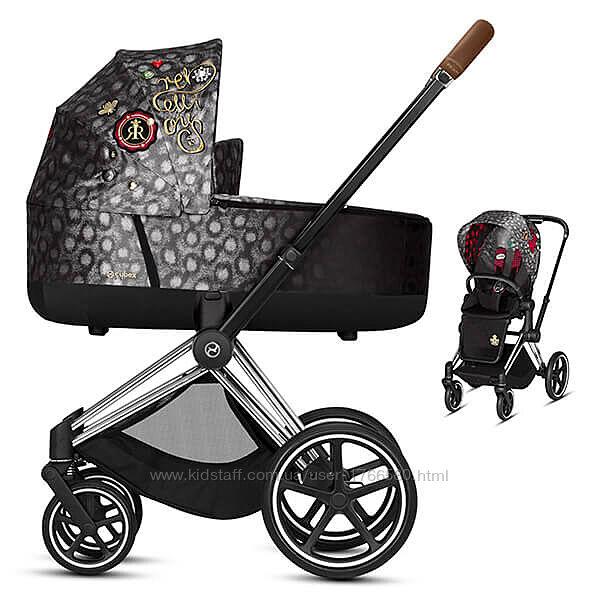 Универсальная коляска 2в1 Cybex Priam 2. 0 Fashion Edition Rebellious