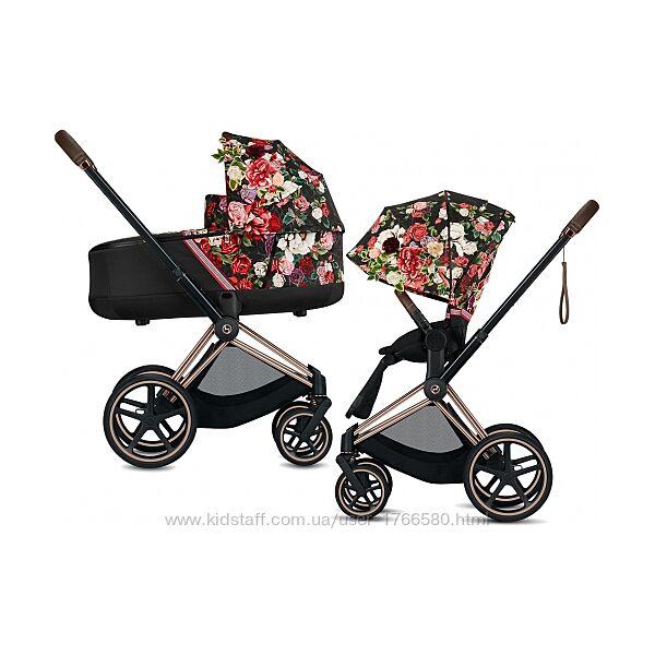 В Наличии коляска 2в1 Cybex PRIAM Spring Blossom