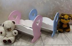 Кровать-Колыбель для кукол Baby Born , и других игрушек