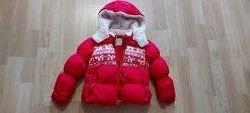 Зимняя куртка для девочки Next 3-4 г.
