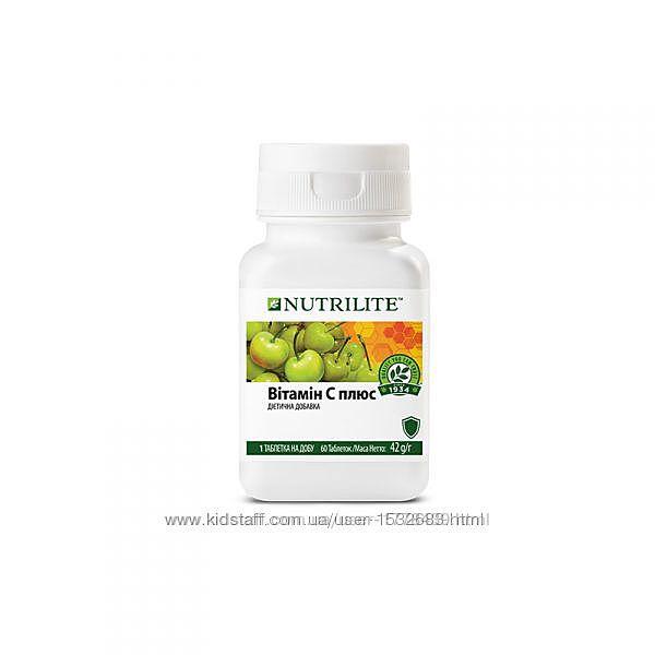 Витамин С плюс NUTRILITE 60табл  Диетическая добавка NUTRILIT