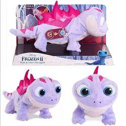 Интерактивная игрушка ящерка Бруни Холодное сердце-2, Дисней оригинал