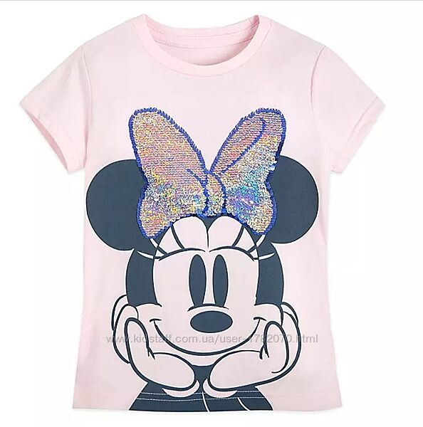 Футболка для девочки Минни Маус, 4 года, Disney оригинал