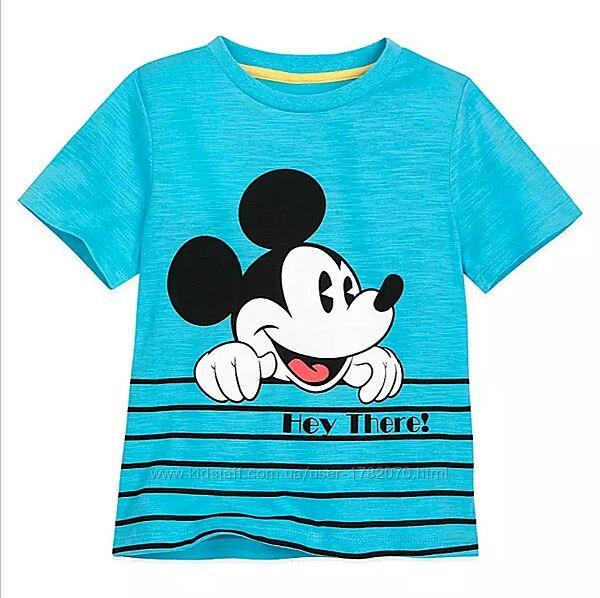 Детская футболка Микки маус, 5-6 лет,  Веселое лето, Дисней оригинал