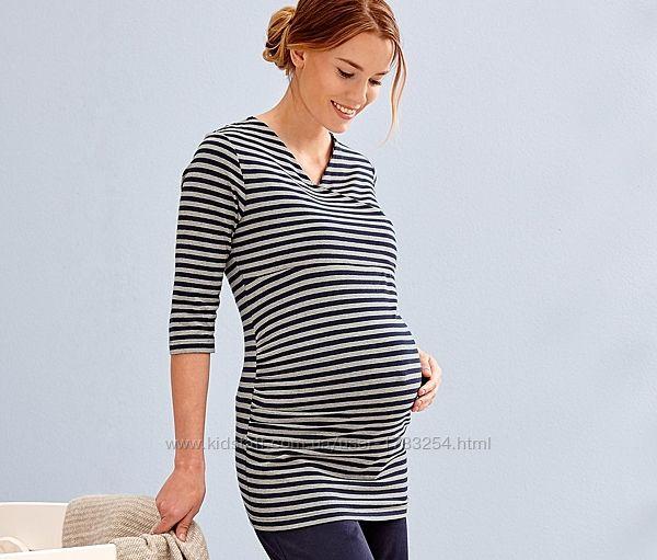 Лонгслив, рубашка, туника для дома для беременных Tchibo Германия , размер