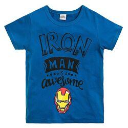 Стильная футболка с принтом MARVEL от Cool club by Smyk, размер 128, 134 см