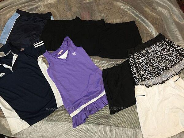 Юбка- шорты поло майка для тенниса