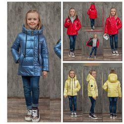Куртки демисезонные  на девочку - весна 2021