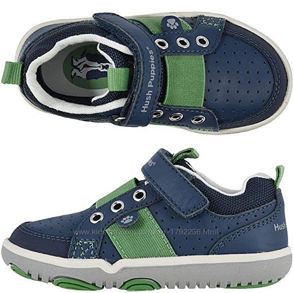 Кожаные кроссовки амер. бренда Hush puppies стелька с эффектом памяти 12 см