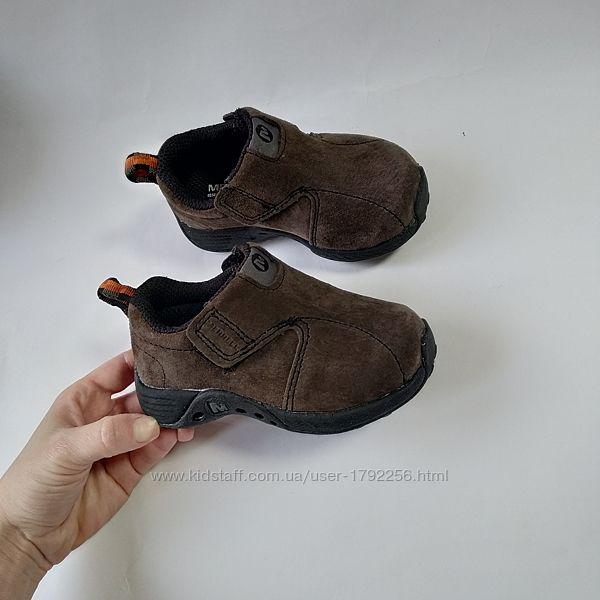 Кожаные замшевые кроссовки Merrell оригинал стелька 13,5см